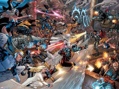 X-Men vs. Agents of Atlas No.2 Group: Storm