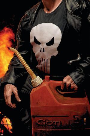 Punisher MAX No.30 Cover: Punisher