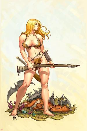 Shanna, The She-Devil No.4 Cover: Shanna The She-Devil