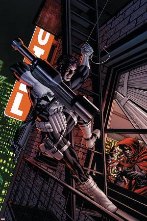 Punisher No.4 Cover: Captain America