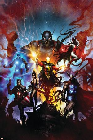 Realm of Kings No.1 Cover: Quasar