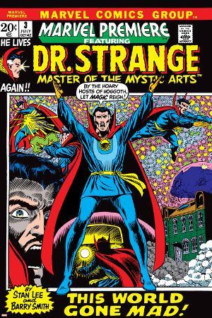 Marvel Premiere No.3 Cover: Dr. Strange