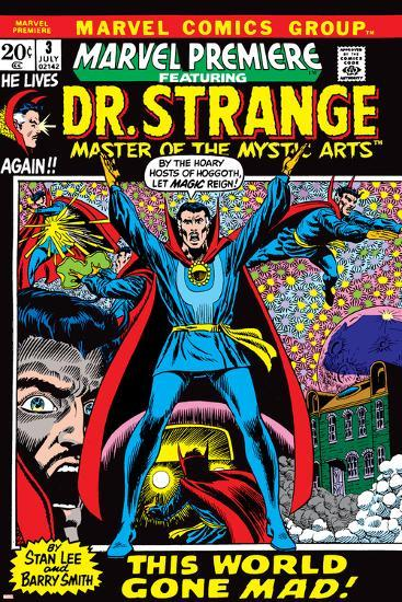 Marvel Premiere No 3 Cover Dr Strange Photo By Barry