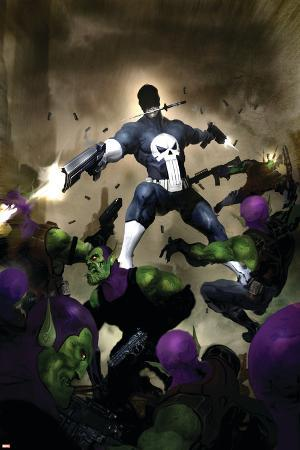 Punisher War Journal No.25 Cover: Punisher