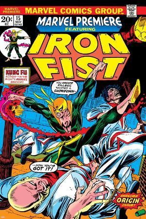 The Immortal Iron Fist: Marvel Premiere No.15 Cover: Iron Fist