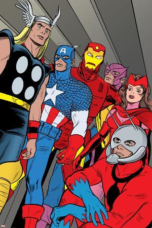 X-Statix No.21 Group: Ant-Man, Captain America, Thor, Iron Man, Scarlet Witch, Hawkeye and Avengers