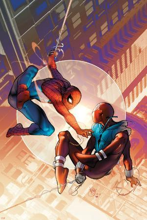 Spider-Man: The Clone Saga No.1 Cover: Spider-Man and Scarlet Spider