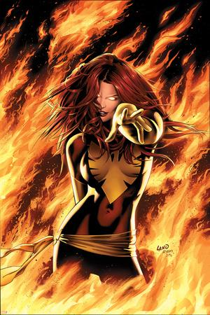 X-Men: Phoenix - Endsong No.1 Cover: Phoenix, Grey and Jean