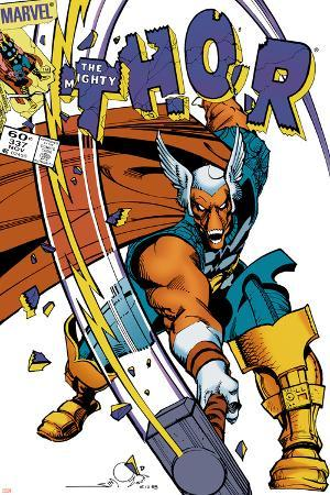 The Mighty Thor No.337 Cover: Beta-Ray Bill