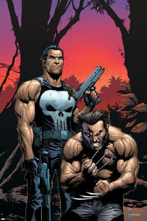 Wolverine Punisher No.2 Cover: Wolverine and Punisher