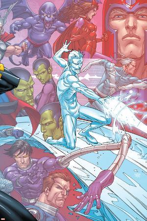 X-Men: First Class Finals No.4 Cover: Iceman