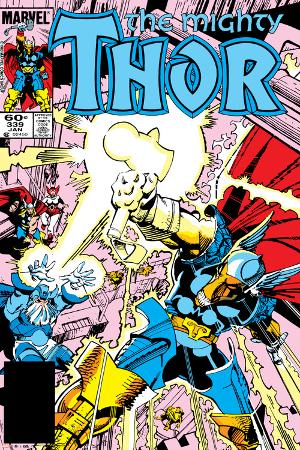 Thor No.339 Cover: Beta-Ray Bill