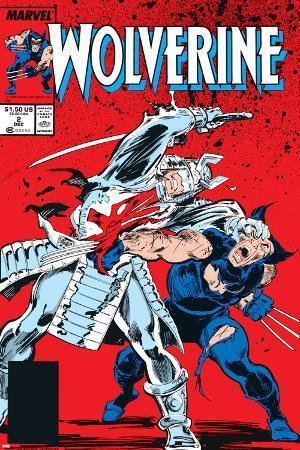 Wolverine No.2 Cover: Wolverine and Silver Samurai