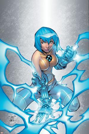 New X-Men No.3 Cover: Surge