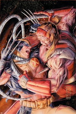 Wolverine Origins No.38 Cover: Wolverine and Omega Red