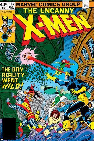 Uncanny X-Men No.128 Cover: Wolverine, Colossus, Grey, Jean, Cyclops, Nightcrawler and X-Men