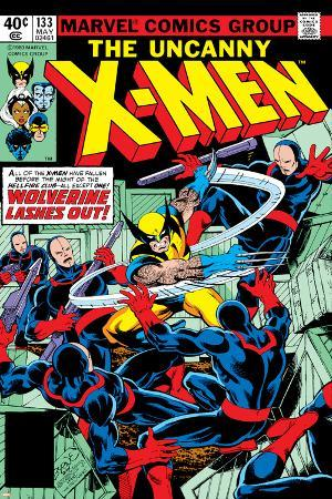 Uncanny X-Men No.133 Cover: Wolverine and Hellfire Club