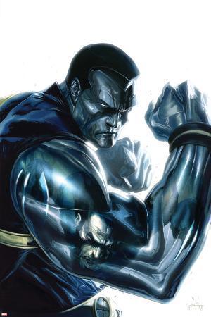 Ultimate X-Men No.96 Cover: Colossus