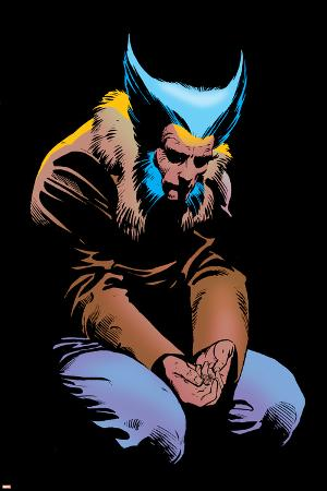 Wolverine No.3 Cover: Wolverine and Logan Flying