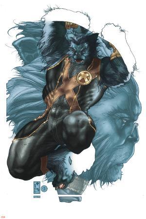 Astonishing X-Men No.26 Cover: Beast