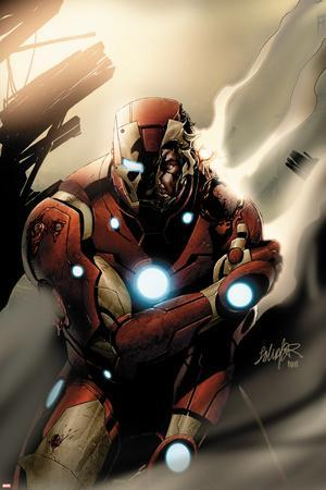 Invincible Iron Man No.33 Cover: Iron Man Standing