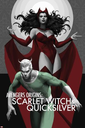 Avengers Origins: The Scarlet Witch & Quicksilver No.1 Cover