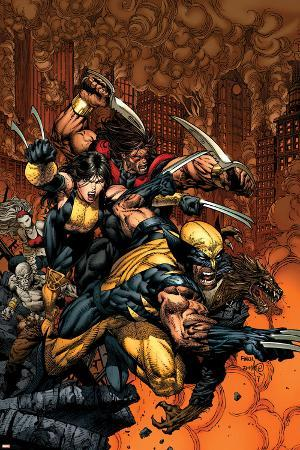 X-Factor No.26 Cover: Wolverine and X-23