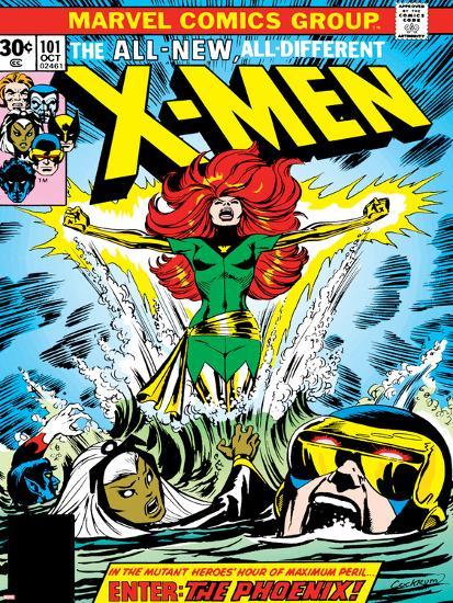 Marvel Comics Retro The X Men Comic Book Cover No 101 Phoenix