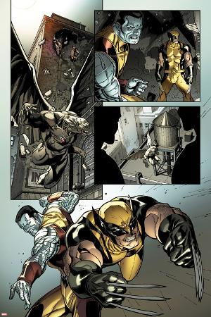 X-Men No.2: Wolverine and Colossus Fighting