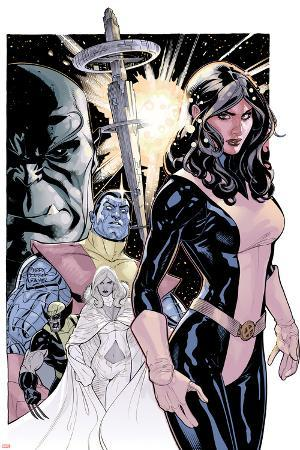 Uncanny X-Men No.535 Cover: Kitty Pryde, Colossus, Wolverine, and Emma Frost