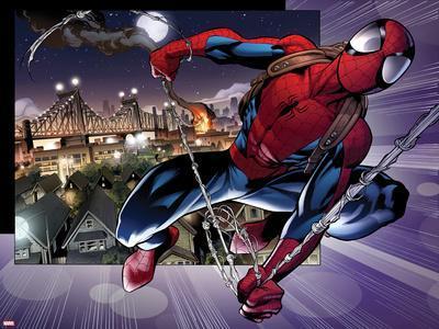 Ultimate Spider-Man No.157: Spider-Man Swinging