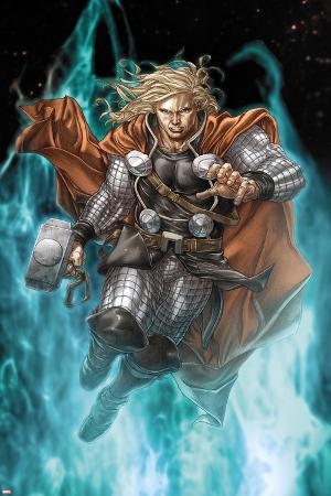 Astonishing Thor No.3: Thor Running with Mjonir