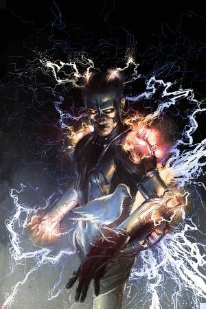 S.H.I.E.L.D. No.5 Cover: Nikola Tesla Standing with Energy
