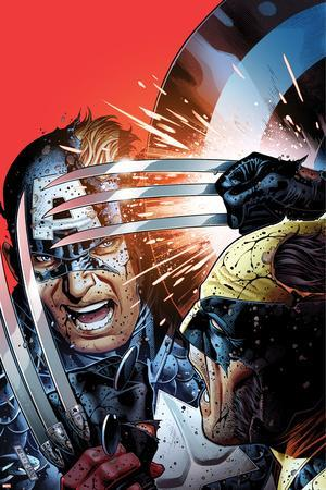 Avengers vs X-Men No.3 Cover: Captain America Fighting Wolverine