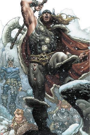 Thor: For Asgard No.1: Thor Smashing