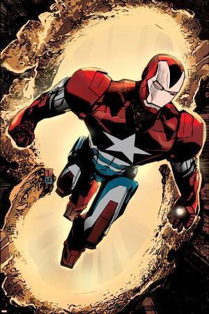 Secret Avengers #3 Cover: Iron Patriot