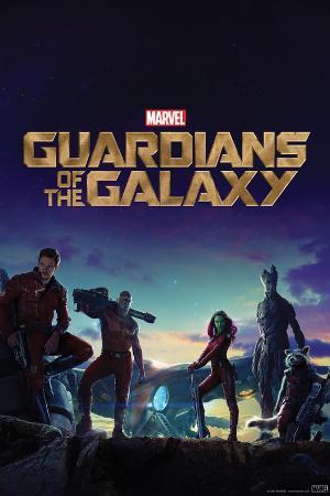 Guardians of the Galaxy: Rocket Raccoon, Groot, Star-Lord, Drax, Gamora