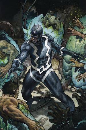 New Avengers #13 Cover: Black Bolt