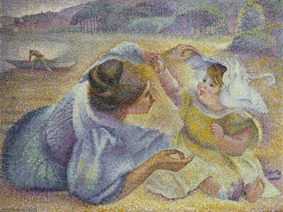 Mother Playing with Her Child, C.1897