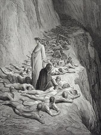 Dante and Pope Adrian V