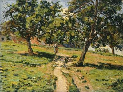 Path at Damiette, C.1886