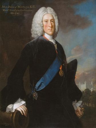 General John, 2nd Duke of Montagu (C.1688-1749) Master General of the Ordnance, C.1740