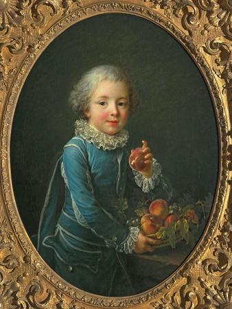 Boy with Peaches, 1760