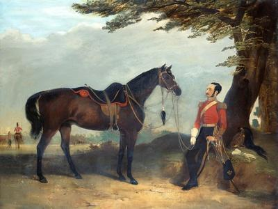 An Unidentified Officer of the 3rd Regiment of the Dragoon Guards, C.1850