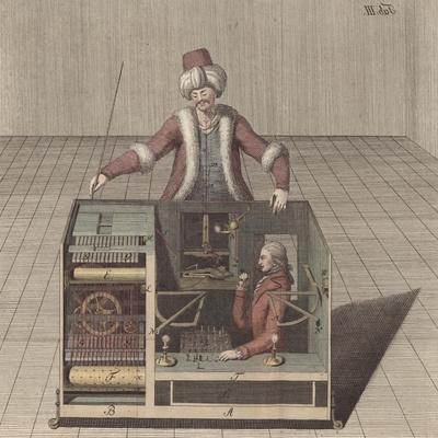 Plate III, 'Uber Den Schachspieler Des Herrn Von Kempelen Und Dessen Nachbildung'