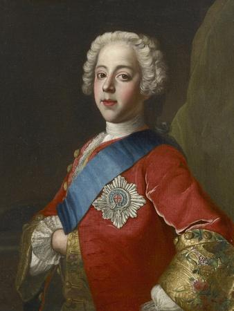 Portrait of Charles Edward Stuart, 'Bonnie Prince Charlie'