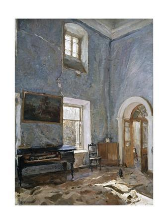The Hall in the Old House, the Obinskys' Estate, Belkino