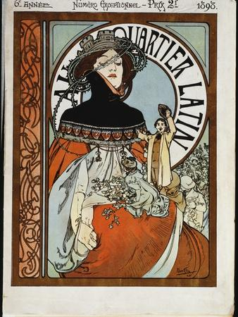 Au Quartier Latin, Printed by Paul Dupont, 1898