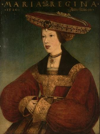 Mary of Austria, C.1520