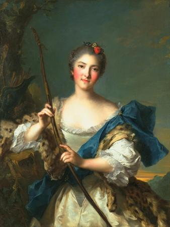 Mademoiselle De Migieu as Diana, 1742